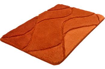 Kleine Wolke Badteppich Fiona Chili 55x 50 cm WC-Vorleger mit Ausschnitt