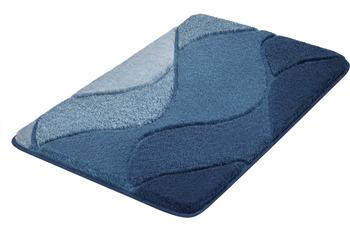 Kleine Wolke Badteppich Fiona Iceblue 55x 50 cm WC-Vorleger mit Ausschnitt