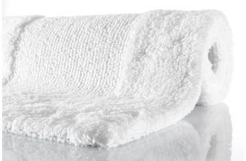 Kleine Wolke Badteppich Havanna Schneeweiss 85 cm x 150 cm