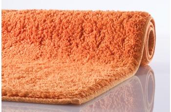 Kleine Wolke , Badematte, Kansas, Orange, reine Baumwolle, rutschhemmender Rücken