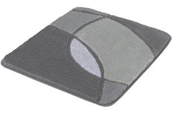 Kleine Wolke Badteppich Kent Anthrazit 50x 55 cm WC-Vorleger