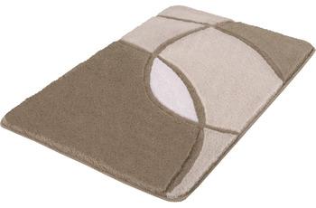 Kleine Wolke Badteppich Kent Macadamia 50x 55 cm WC-Vorleger