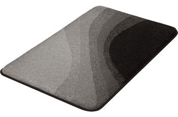 Kleine Wolke Badteppich Malin Schiefer 55x 50 cm WC-Vorleger mit Ausschnitt