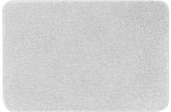 Kleine Wolke Badteppich Meadow Silbergrau