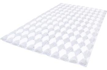 Kleine Wolke Badteppich Merida Silbergrau 100 cm x 60 cm