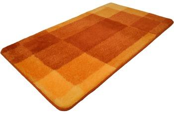 Kleine Wolke Badteppich Mix Brandy 55 cm x 50 cm WC-Vorleger mit Ausschnitt