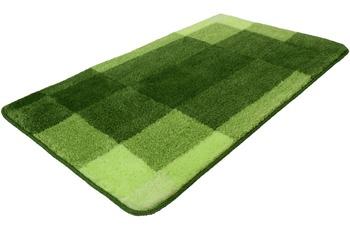 Kleine Wolke Badteppich Mix, Kiwigrün 55x 65 cm