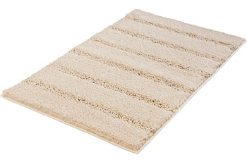 Kleine Wolke Badteppich Monrovia Sandbeige 60 cm x 100 cm