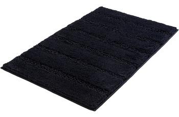 Kleine Wolke Badteppich Monrovia, Schwarz 60x100 cm