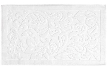 Kleine Wolke Badteppich Newport, Weiss 60x100 cm