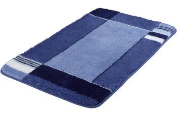 Kleine Wolke Badteppich Padova Marineblau 60 cm x 100 cm
