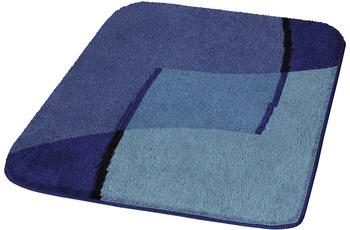 Kleine Wolke Badteppich Ravenna, Royalblau 140 cm x 80 cm