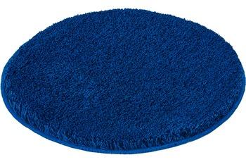 Kleine Wolke Badteppich Relax Atlantikblau 60 cm rund