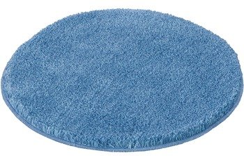 Kleine Wolke Badteppich Relax Azur 60 cm rund