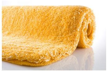 Kleine Wolke Badteppich Relax Goldgelb 85 cm x 150 cm