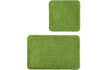 Kleine Wolke Badteppich Relax, Kiwigrün Set 2-teilig, Jubiläums-Angebot