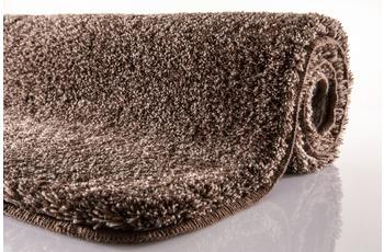 Kleine Wolke Badteppich Relax Mahagoni 55 cm x 55 cm WC-Vorleger mit Ausschnitt