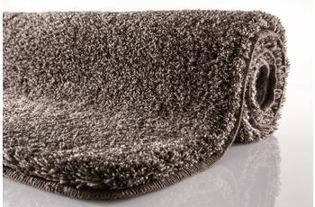Kleine Wolke Badteppich Relax, Mahagoni WC-Vorleger 55x 55 cm mit Ausschnitt