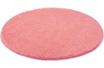Kleine Wolke Badteppich Relax Pastellrose 100 cm rund