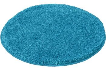 Kleine Wolke Badteppich Relax Pazifik rutschhemmender Rücken Öko-Tex zertifiziert Wunschmaß rund/ oval
