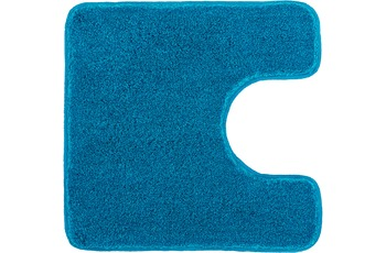 Kleine Wolke Badteppich Relax Pazifik 55 cm x 55 cm WC-Vorleger mit Ausschnitt