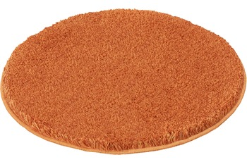 Kleine Wolke Badteppich Relax Rost 100 cm rund