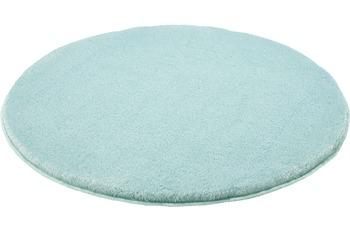 Kleine Wolke Badteppich Relax, Salbeigrün 100 cm rund