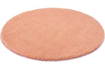 Kleine Wolke Badteppich Relax, Salmon 60 cm rund