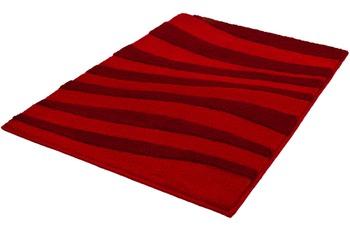 Kleine Wolke Badteppich Riga, Granat 80x140 cm