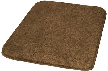Kleine Wolke Badteppich, Rumba, Mahagoni 47 x 50 cm Deckelbezug