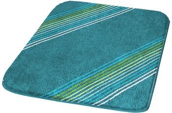 Kleine Wolke Badteppich Run Pazifik 50 cm x 50 cm WC-Vorleger mit Ausschnitt