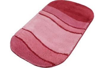 Kleine Wolke Badteppich Siesta Magnolie 55 cm x 55 cm WC-Vorleger mit Ausschnitt