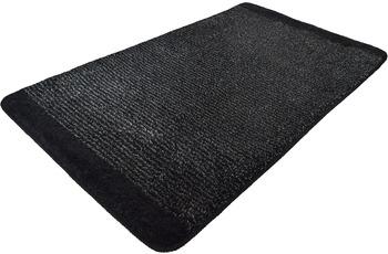 Kleine Wolke Badteppich Singapur, Schwarz 60 x 100 cm