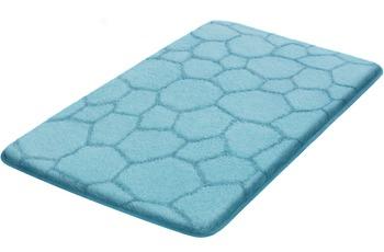 Kleine Wolke Badteppich Soapy, Wasserblau