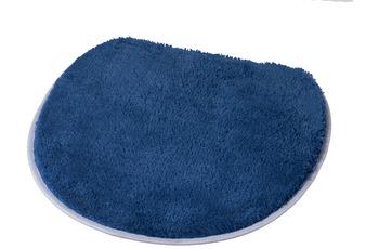 Kleine Wolke Badteppich Soft, Marineblau 47 x 50 cm Deckelbezug
