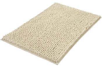 Kleine Wolke Badteppich Stella Sandbeige 60x 90 cm