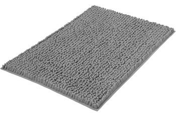 Kleine Wolke Badteppich Stella Silbergrau 60x 90 cm