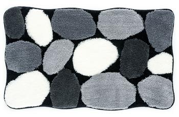 Kleine Wolke Badteppich Stone Schwarz