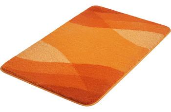 Kleine Wolke Badteppich Suri Chili 55x 50 cm WC-Vorleger mit Ausschnitt