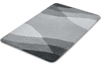 Kleine Wolke Badteppich Suri Schiefer 80x140 cm