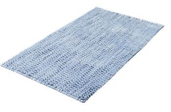 Kleine Wolke Badteppich Sway Blau 60x 60 cm