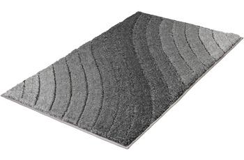 Kleine Wolke Badteppich Tender, Anthrazit 60x 60 cm