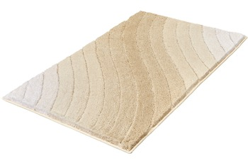 Kleine Wolke Badteppich Tender, Sandbeige 60x 60 cm