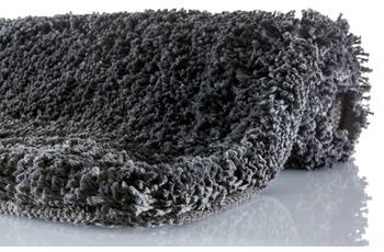 Kleine Wolke Badteppich Trend Schiefer 120 cm x 70 cm