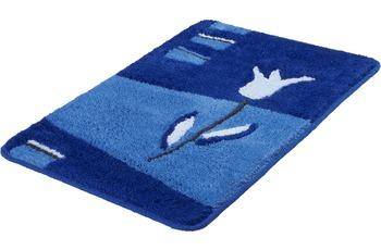 Kleine Wolke Badteppich Tulpa Royalblau 60 cm x 90 cm