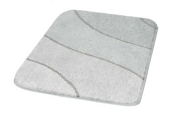 Kleine Wolke Badteppich Wave Auster 55 cm x 55 cm WC-Vorleger mit Ausschnitt