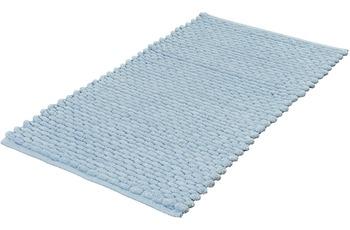 Kleine Wolke Badteppich Willow Wasserblau 60x 60 cm