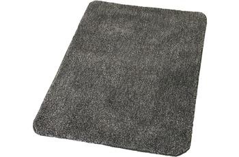 Kleine Wolke Badteppich Wilna Schiefer 55 cm x 55 cm WC-Vorleger mit Ausschnitt
