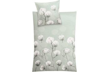 Kleine Wolke Bettwäsche Cotton, schilf