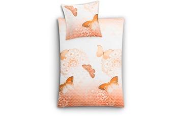 Kleine Wolke Bettwäsche Papillon, Aprikose